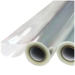 """30"""" Inch X 100' Ft Clear Cellophane Wrap 2ct Rolls"""